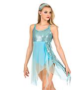 Adult Asymmetrical Lyrical Dress Set