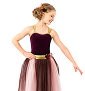 Girls Romantic Tutu Camisole Dress Set