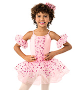 Girls Polka Dot Tutu Dress Set