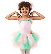 Girls Camisole Pastel Tutu Dress Set