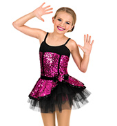 Girls 2-in-1 Sequined Two-Tone Set