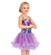 Girls Petticoat Camisole Dress Set