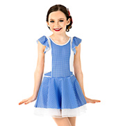 Girls Gingham Oz Dress Set