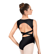 Adult Criss-cross Back Tank Leotard