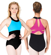 Adult Clover Strap Back Tank Leotard