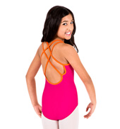 Child Double Strap Camisole Leotard