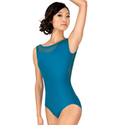 Adult Mesh V-Back Tank Leotard