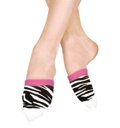 Zebra Spinner Socks