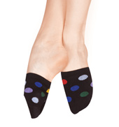 Polka Dot Spinner Socks