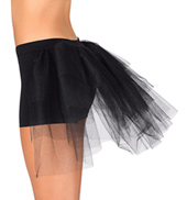 Dance Shorts With Attached Bustle