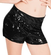 Sequin Tap Short