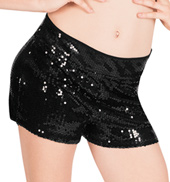 Sequin Tap Dance Short