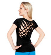 Knot Back Short Sleeve T-Shirt
