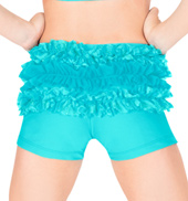 Child Lace Ruffle Dance Short