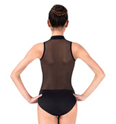 Adult Tank Leotard with Mesh Back