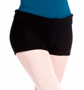 Adult Knit Warm Up Dance Short
