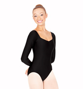Adult Long Sleeve Sweetheart Leotard