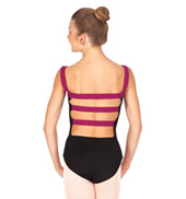 Adult 2-Tone Tank Leotard