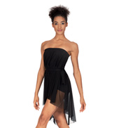 Adult Mesh Hi-Lo Overdress/Skirt