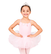 Child Wire Hem Camisole Tutu Dress