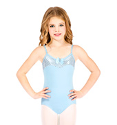Child Sequin Dot Camisole Leotard