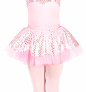 Child Sequin Dot Tutu Skirt