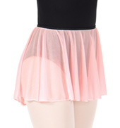 Adult Pull-On Mesh Ballet Skirt