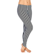 Adult Striped Leggings