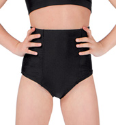 Girls High Waist Brief