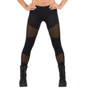 Adult Mesh Insert Leggings