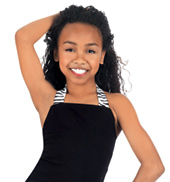 Child Zebra Halter Top