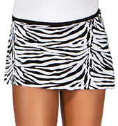 Child Zebra Pull-On Skirt
