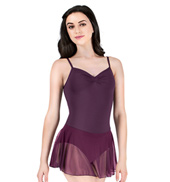 Adult Microfiber Powermesh Camisole Dress