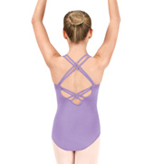 Girls Strappy Back Camisole Leotard