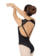 Adult Powermesh Bodice Tank Leotard