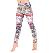 Girls Route 66 Leggings