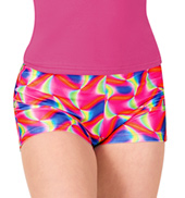 Girls Watercolor Dance Shorts