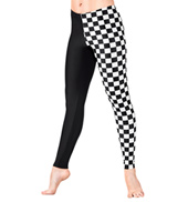 Adult Checkered Leggings
