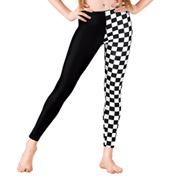 Girls Checkered Leggings