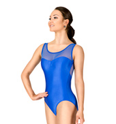Adult Power Mesh Tank Leotard