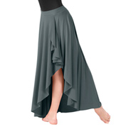 Child Pull-On High-Low Dance Skirt