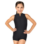 Child Deep V-Back Tank Biketard