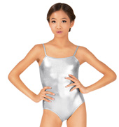 Child Metallic Camisole Leotard