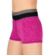 Child Space Dye Fitness Shorts