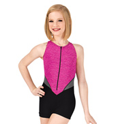 Child Space Dye Shorty Unitard