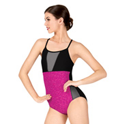 Adult Space Dye Camisole Leotard