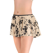Flocked Pull On Skirt