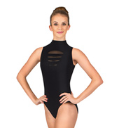 Adult Slash High Neck Tank Leotard