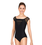 Adult Slash Cap Sleeve Leotard