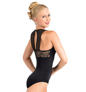 Adult Pointe DEsprit Tank Leotard